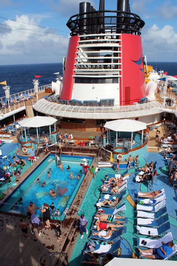 Pool Areas Aboard The Disney Magic Cruise Ship: Disney Magic