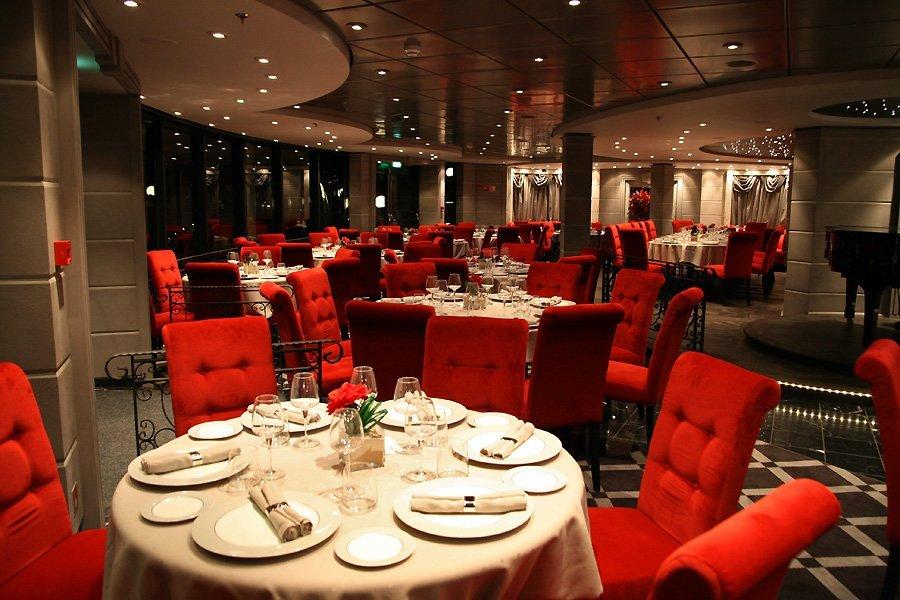 Conoce el msc fantasia viajes holam for Restaurante frances