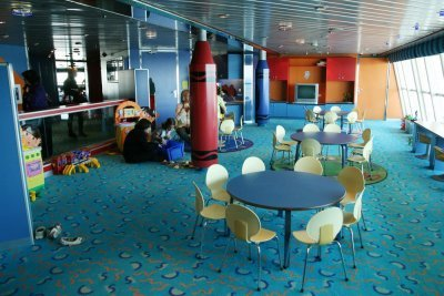 Pullmantur Sovereign club infantil