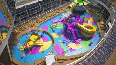 Parque acuático del Harmony of the Seas, Splashaway Bay