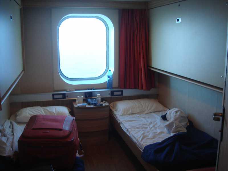 Ferry barcelona civitavecchia infocruceros for Camarote interior grimaldi