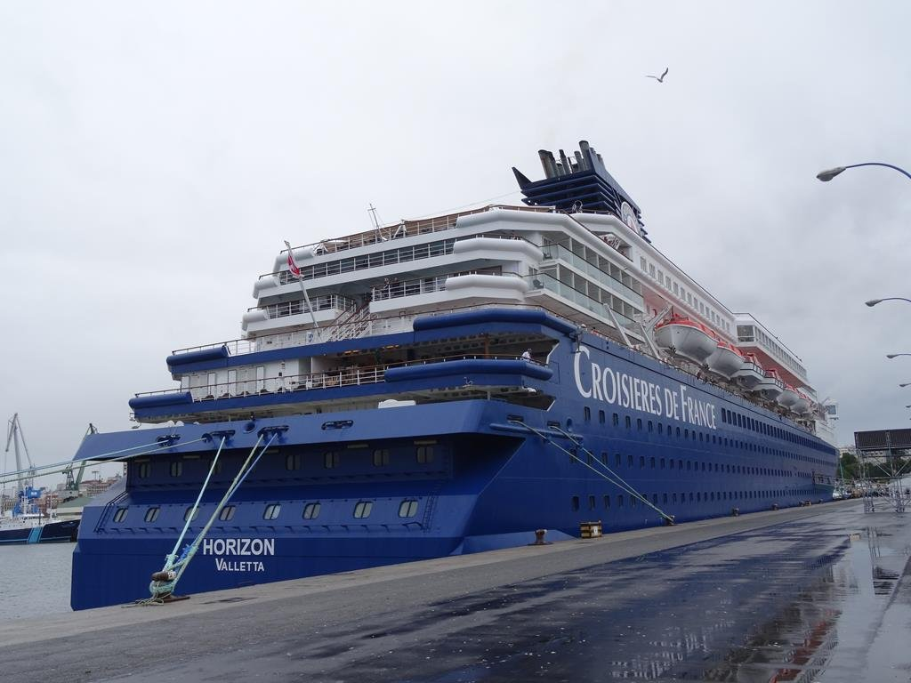 buque horizon islas griegas