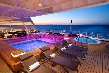 Seabourn-Aft Pool and Whirlpool