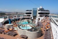 MSC Splendida Piscina