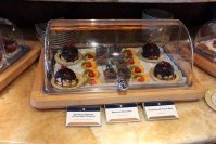 MSC Splendida Yacht Club pasteles