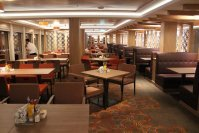 Norwegian Escape Garden Cafe 1