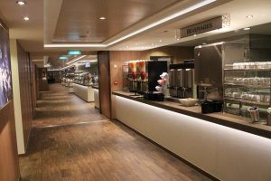 Norwegian Escape Garden Cafe 2