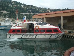 Villefranche tenders cruceros