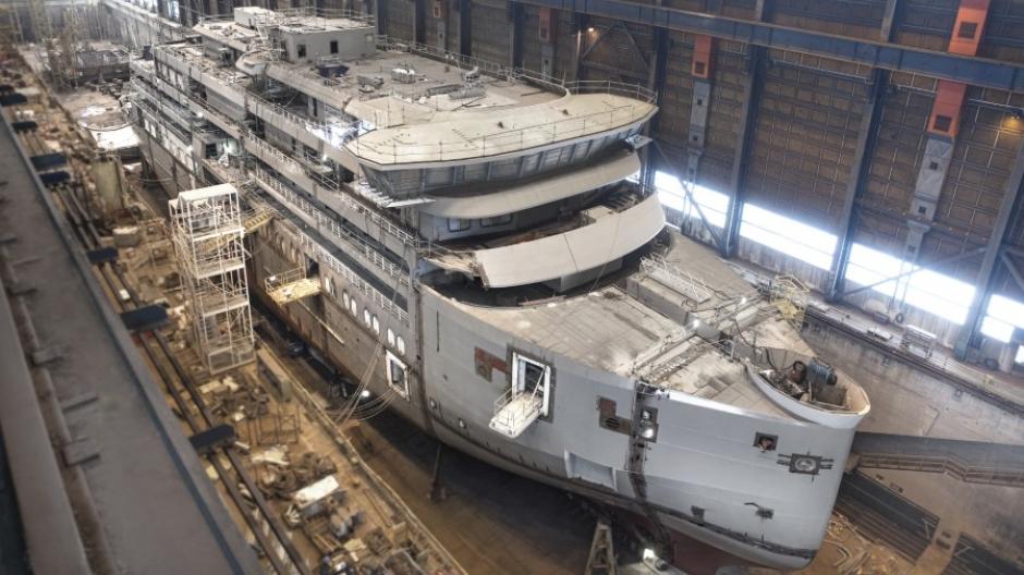 Swan Hellenic desvela el diseño de los camarotes al tiempo que se completa la estructura del SH Minerva