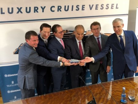 The Ritz-Carlton Yatch Collection confirma el pedido de un segundo yate de cruceros de lujo a los astilleros Barreras de Vigo