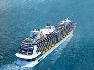 Ovation of the Seas también a China