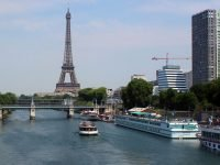 MS France Crucero fluvial en el Sena, Paris.