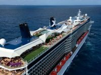 Celebrity Reflection foto aerea